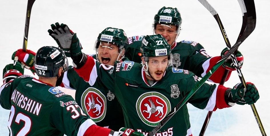 «Ак Барс» выиграл у ЦСКА в первом матче финала Кубка Гагарина