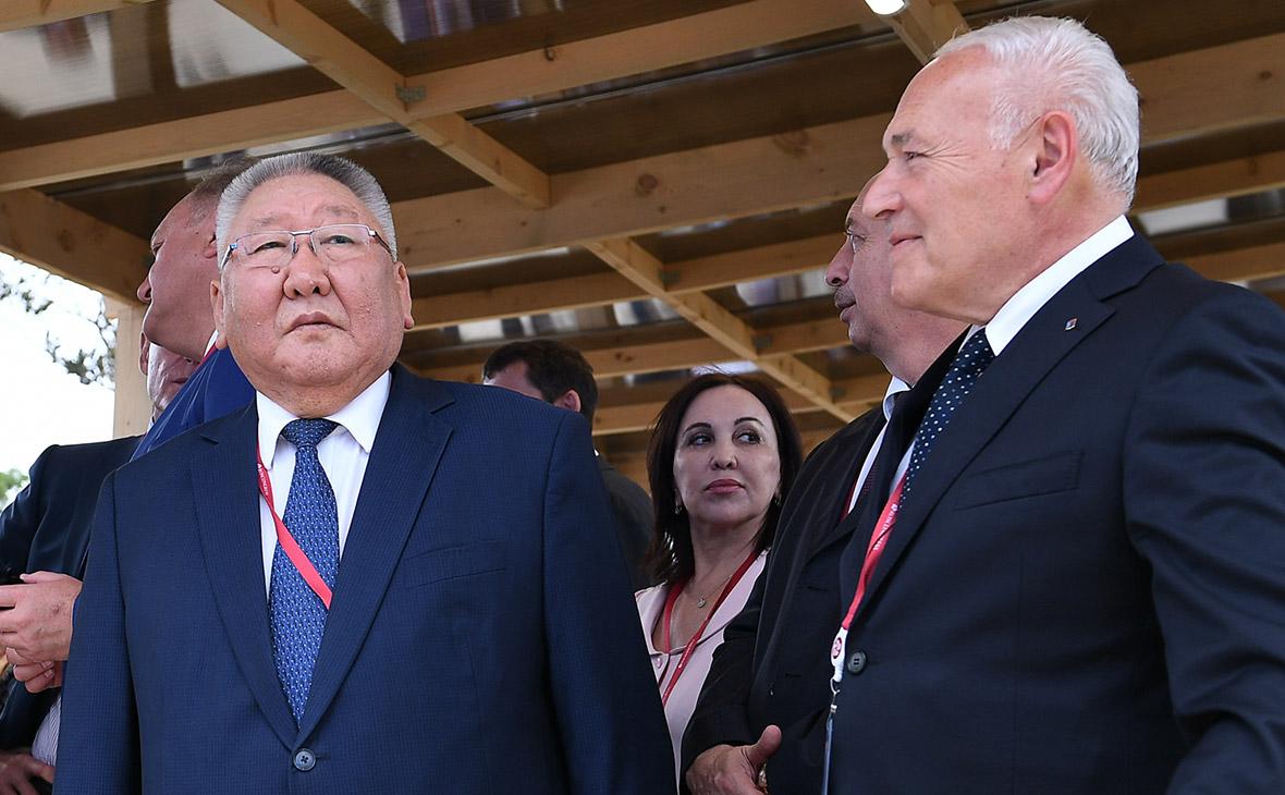 Егор Борисов и Владимир Печеный