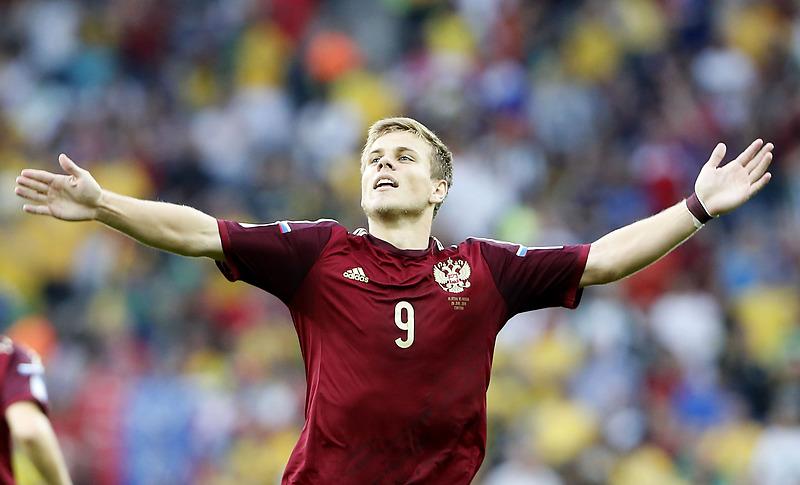 Александр Кокорин, игрок клуба «Зенит» и сборной России