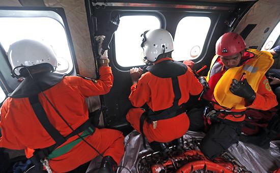 Операция по поиску тел погибших в результате крушения самолета Airbus А320