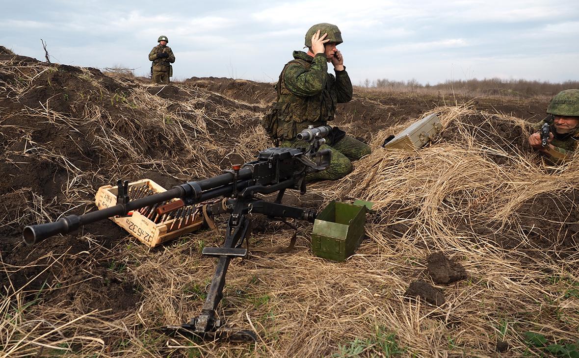 Крупнокалиберный пулемет НСВ
