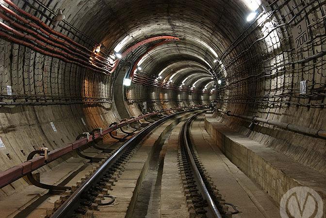 Тоннель петербургского метро