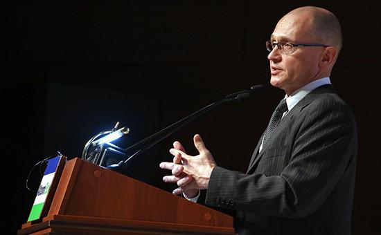 Сергей Кириенко, назначенный указом Путина напост первого заместителя главы администрации президента