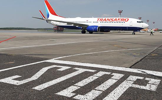 Самолет Boeing 737-800 авиакомпании «Трансаэро»