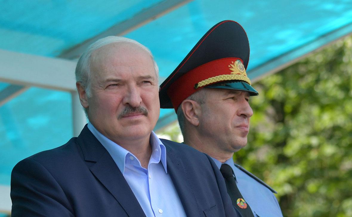 Александр Лукашенко и Юрий Караев