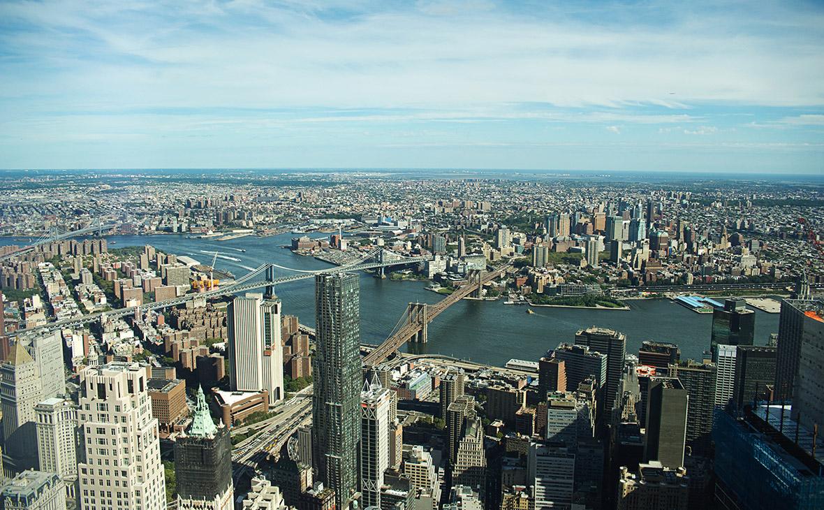 Вид на городНью-Йорк