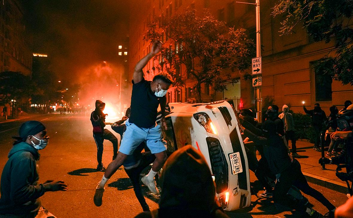 Протесты против действий полиции в США