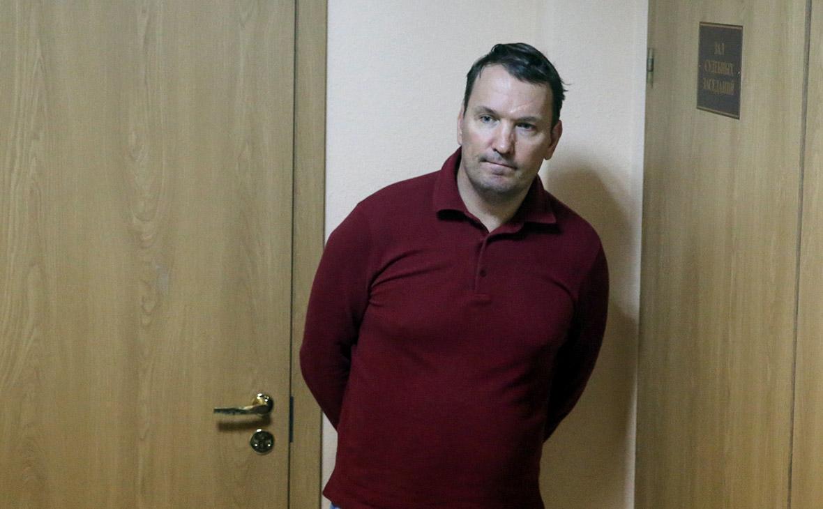 Дмитрий Костыгин в Смольнинском районном суде
