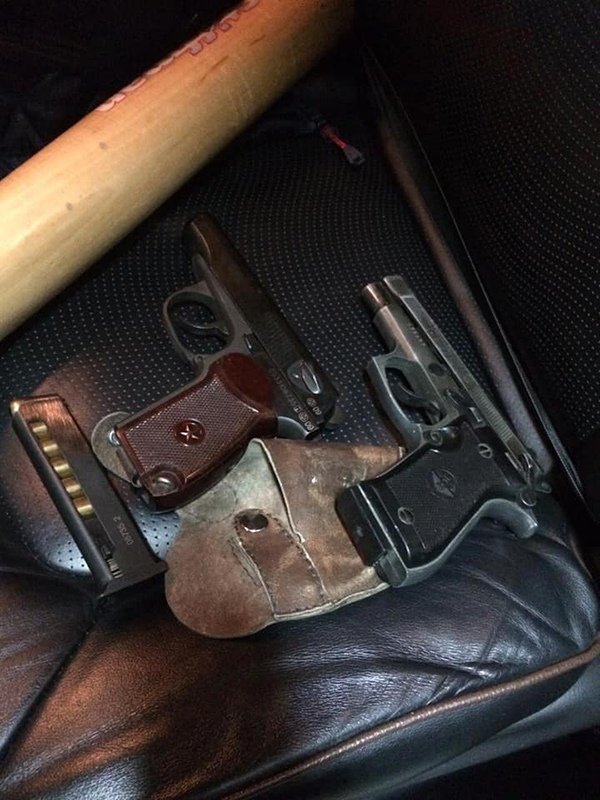 В ходе обысков найденнеоформленный боевой пистолет