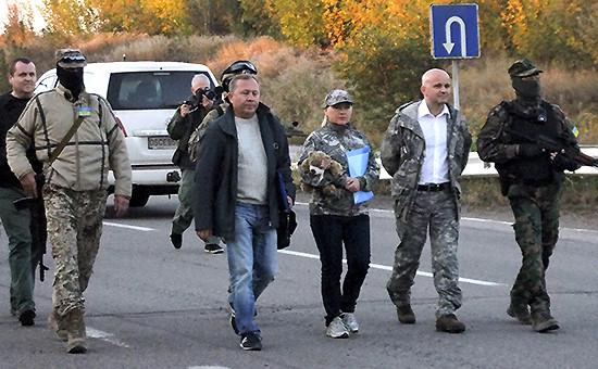 Во время обмена пленными между Киевом и ДНР, архив