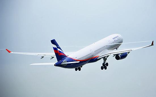 Самолет A330 авиакомпании «Аэрофлот»