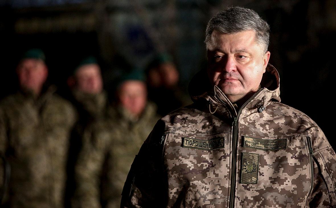 Порошенко назвал потери украинских войск в Донбассе