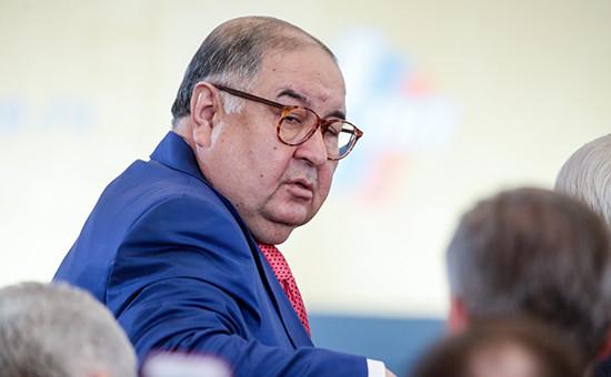 БизнесменАлишер Усманов. Март 2016 года