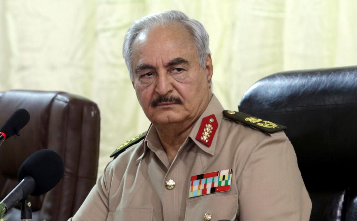 Военная прокуратура Ливии выдала ордер на арест маршала Хафтара