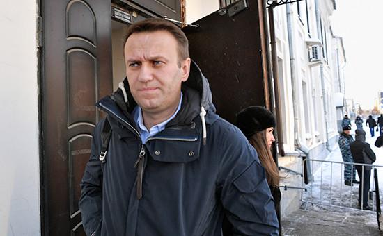 Глава Фонда борьбы скоррупцией Алексей Навальный
