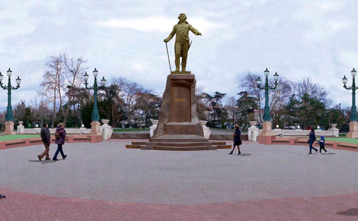 Чиновники правительства скинулись на памятник Потемкину в Севастополе