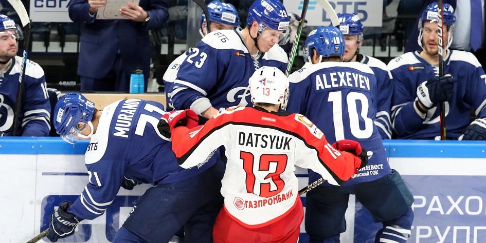 Московское «Динамо» второй раз за неделю обыграло «Автомобилиста» в КХЛ