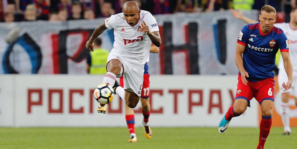 «Локомотив» победил ЦСКА в московском дерби