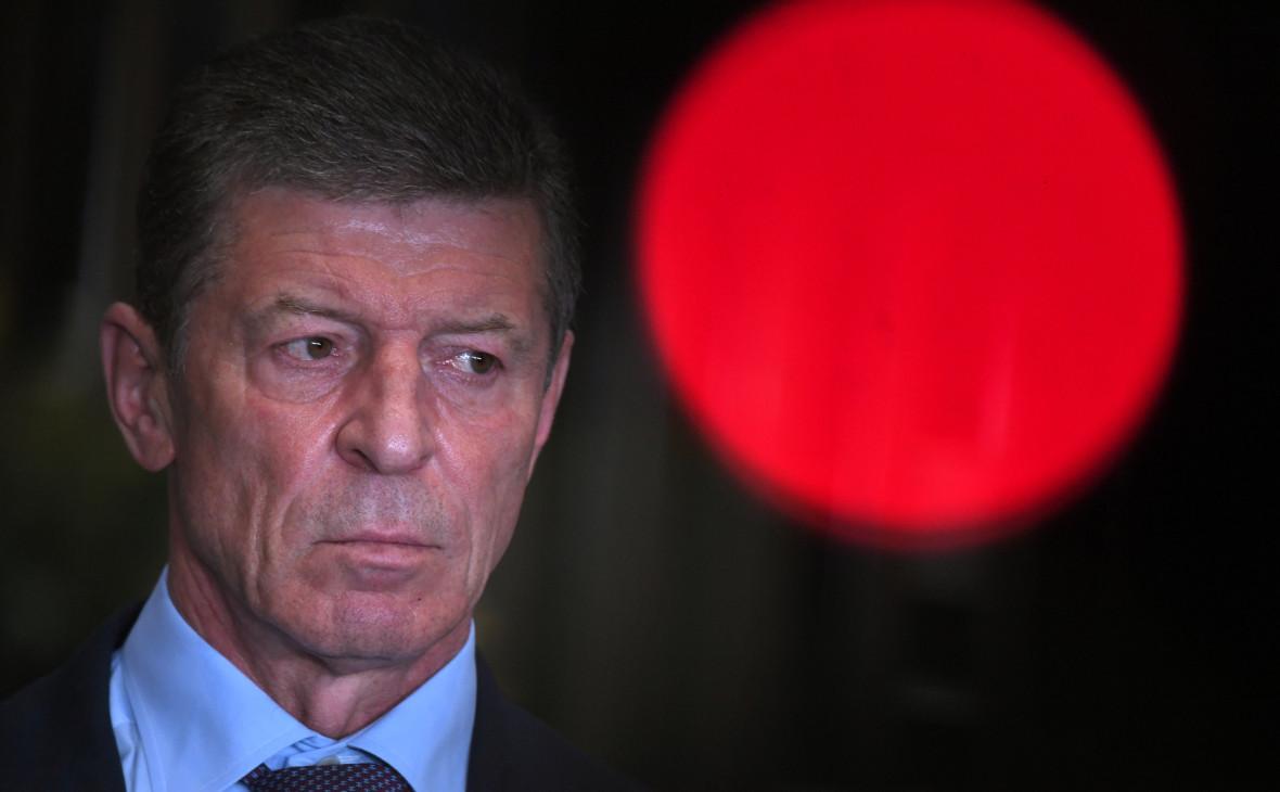 Козак анонсировал прямые переговоры Киева и Донбасса