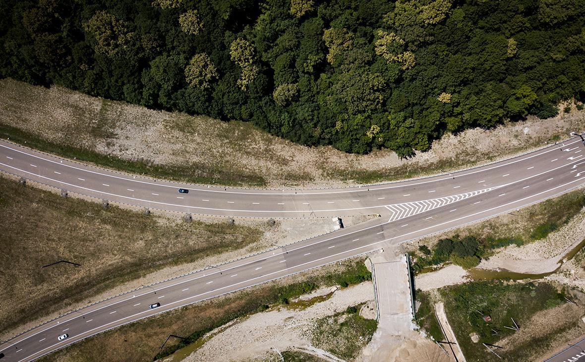 Участок автомобильной дороги Джубга — Сочи