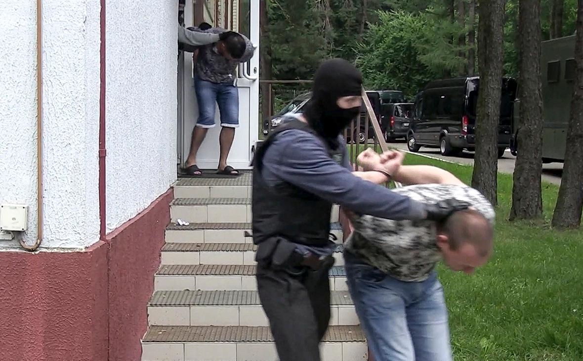 Фото:КГБ Белоруссии / Государственная телерадиокомпания Белоруссии / AP