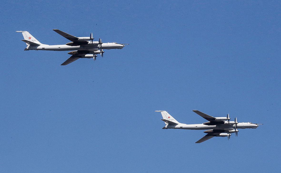 Истребители Японии и Южной Кореи сопроводили российские Ту-95