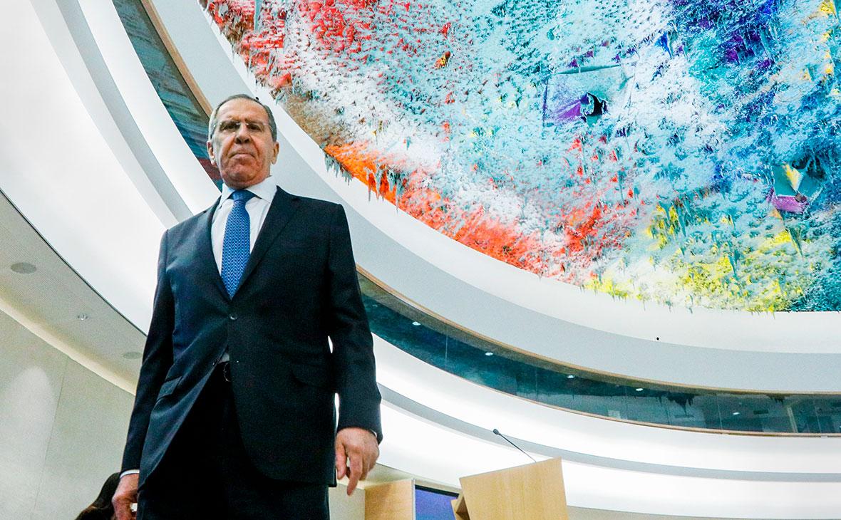 Комитет министров СЕ перенесли после призыва не пускать Лаврова в Тбилиси