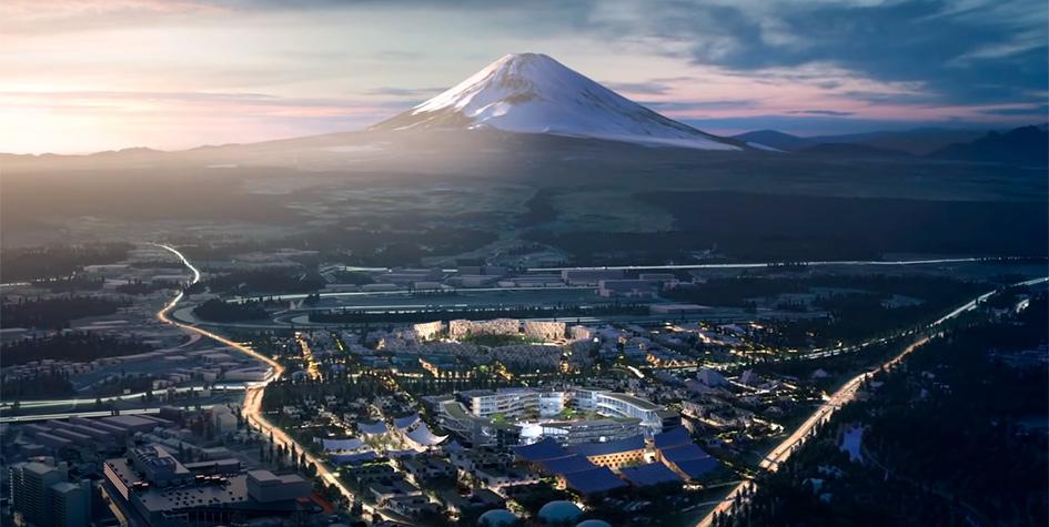 Toyota построит «город будущего» у подножия горы Фудзи