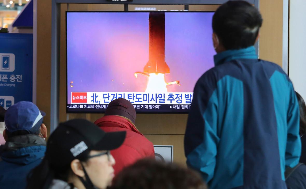 КНДР подтвердила испытания новых тактических ракет