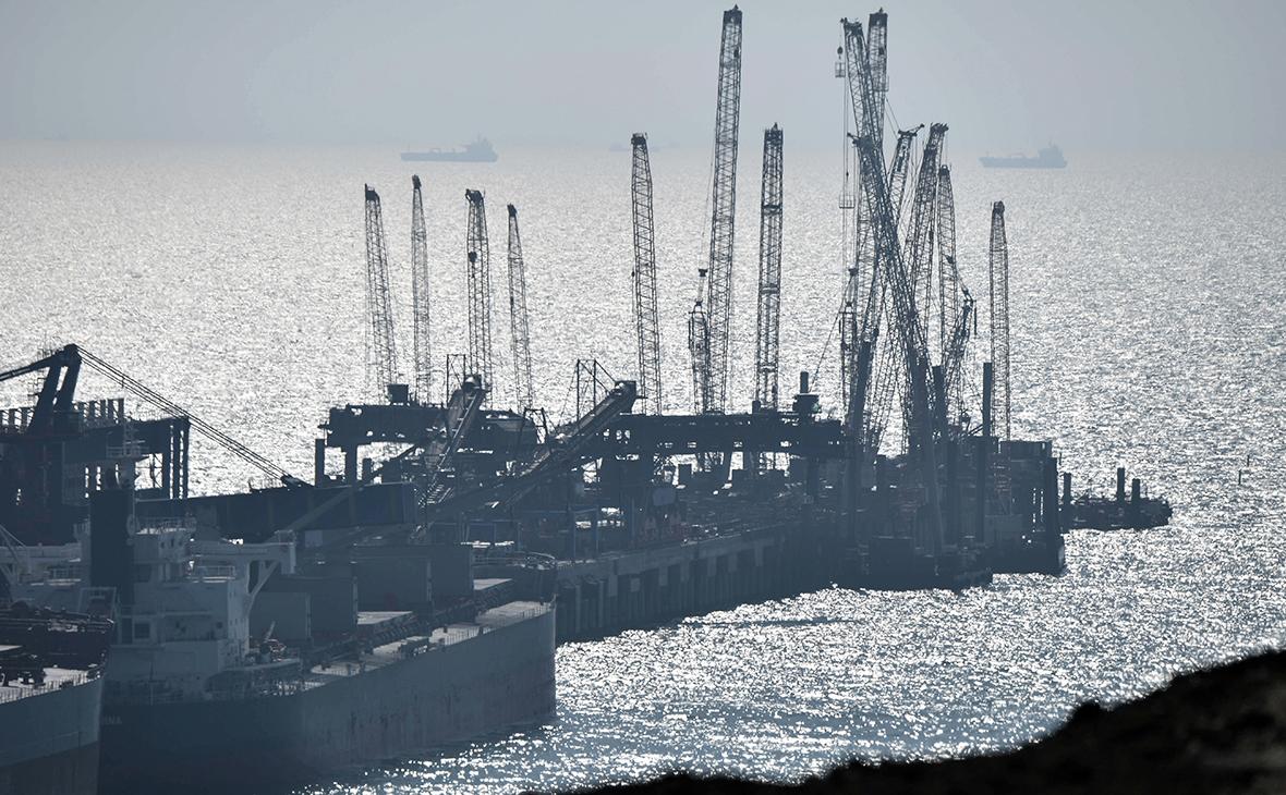 Перегрузочный комплекс на территории высокотехнологичного портово-индустриального парка «ОТЭКО»