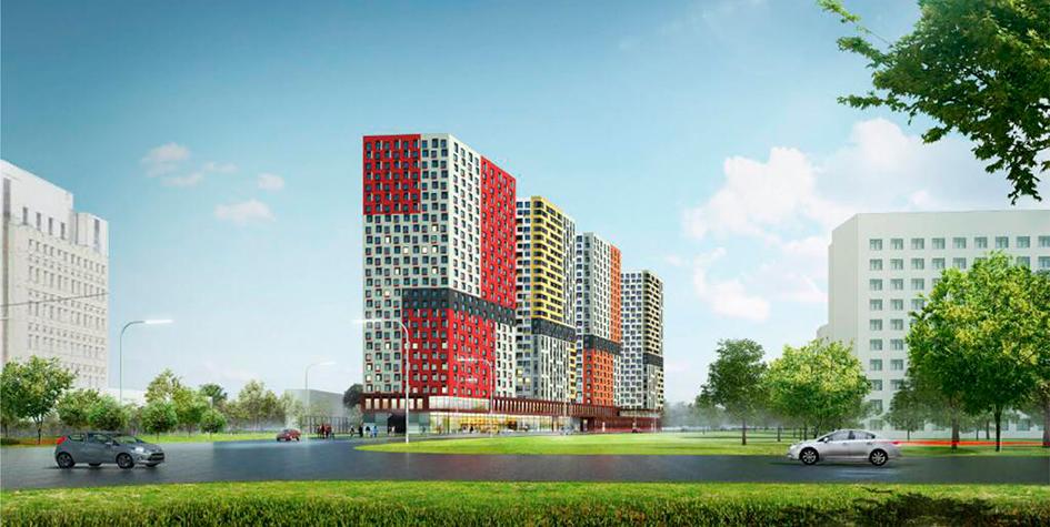 Проект гостиничного комплекса на ул. Орджоникидзе в Санкт-Петербурге