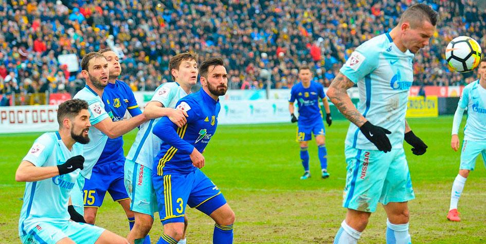 «Зенит» потерял очки в третьем матче подряд в чемпионате России