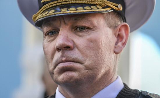 Уволенный командующий Военно-морскими силами Вооруженных сил Украины Сергей Гайдук