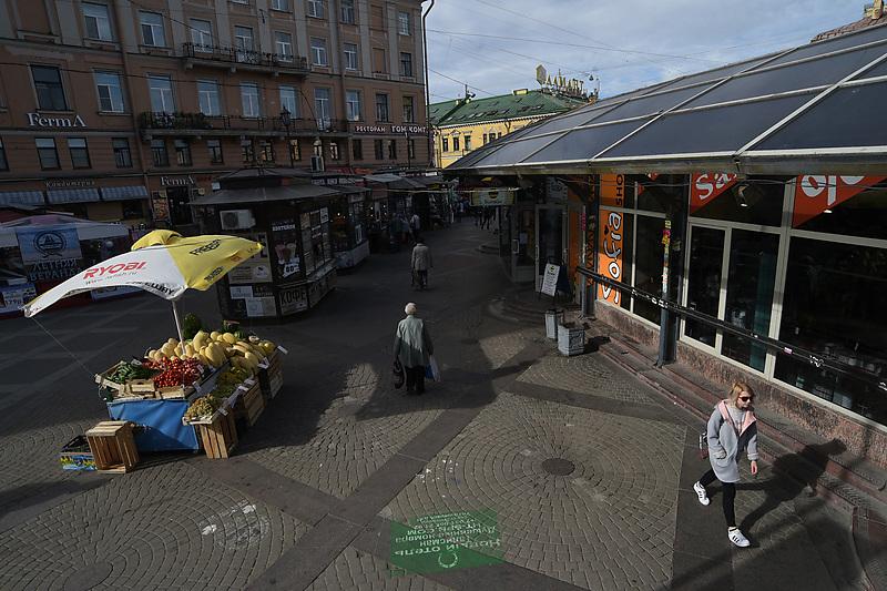 Торговые павильоны на Сенной площади