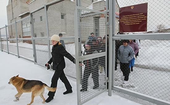 Осужденные в колонии-поселении в Красноярском крае