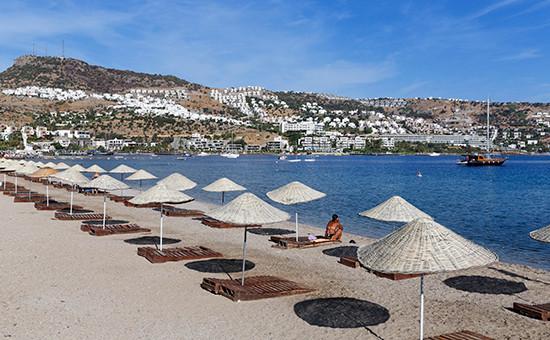 Курорт на полуострове Бодрум в Турции