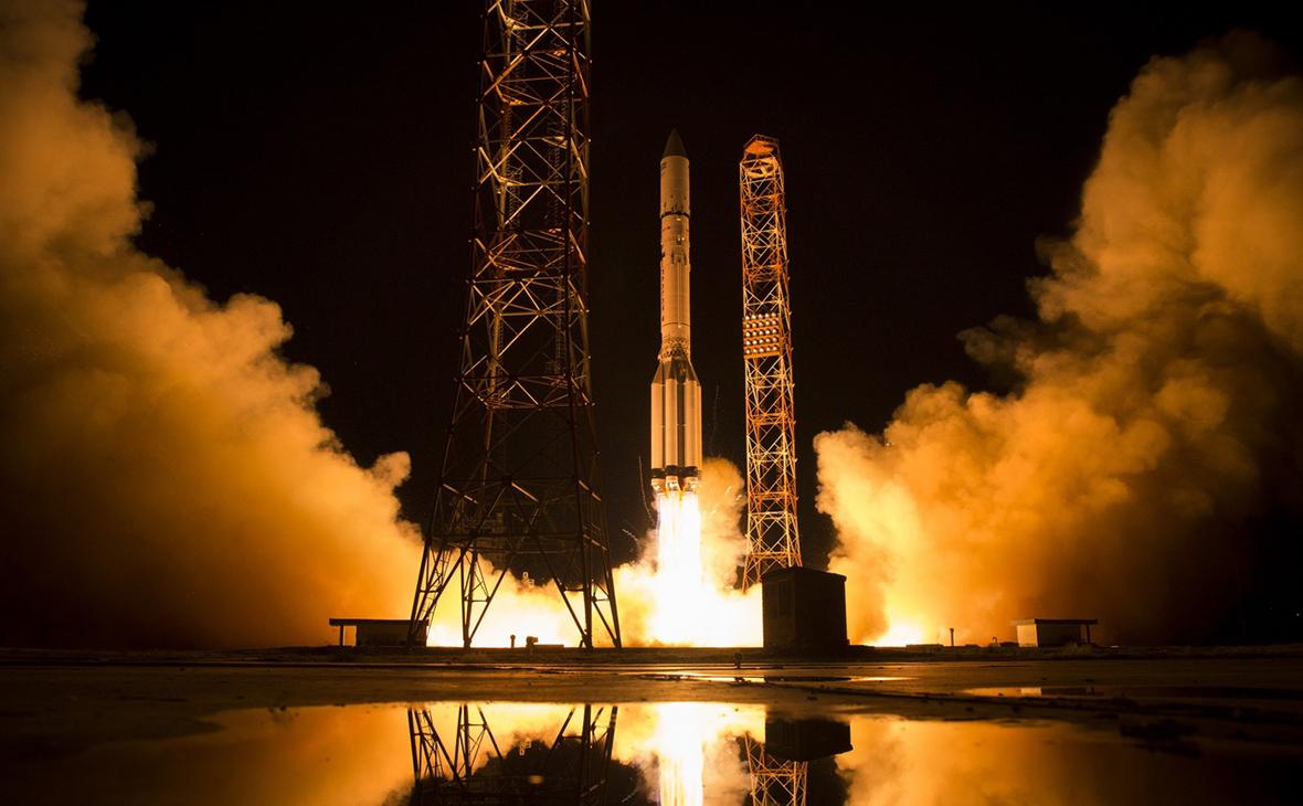 Запуск спутника «Ямал-601»