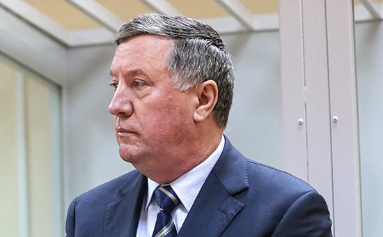 Рассмотрение ходатайства экс-главкома Сухопутными войсками РФ ВладимираЧиркина в Московском гарнизонном суде