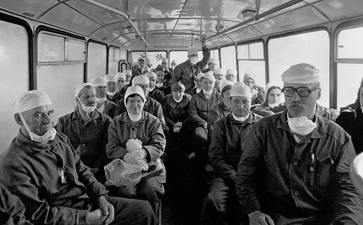 Ликвидаторыаварии на Чернобыльской АЭС