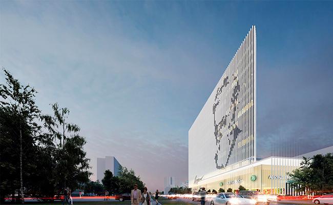 Проект бизнес-центра«Академик»на проспекте Вернадского