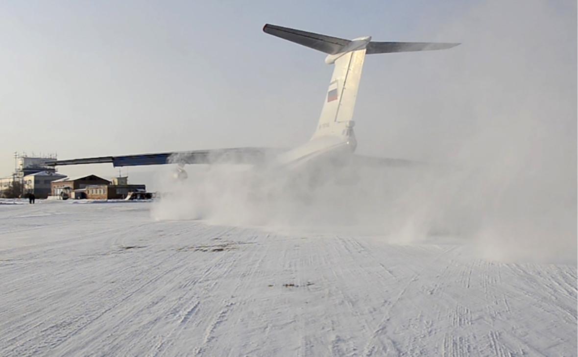 Самолет Воздушно-космических сил России, предназначенный для эвакуации россиян из Уханя