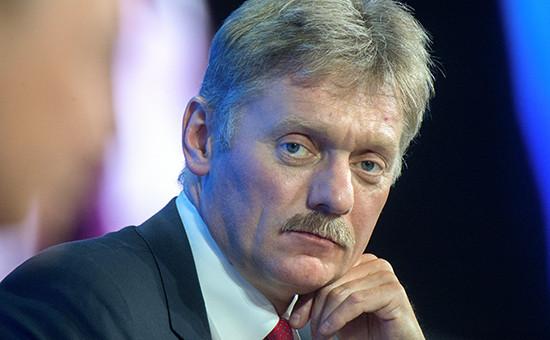 Пресс-секретарь главы государства Дмитрий Песков