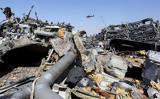 Обломки самолета A321
