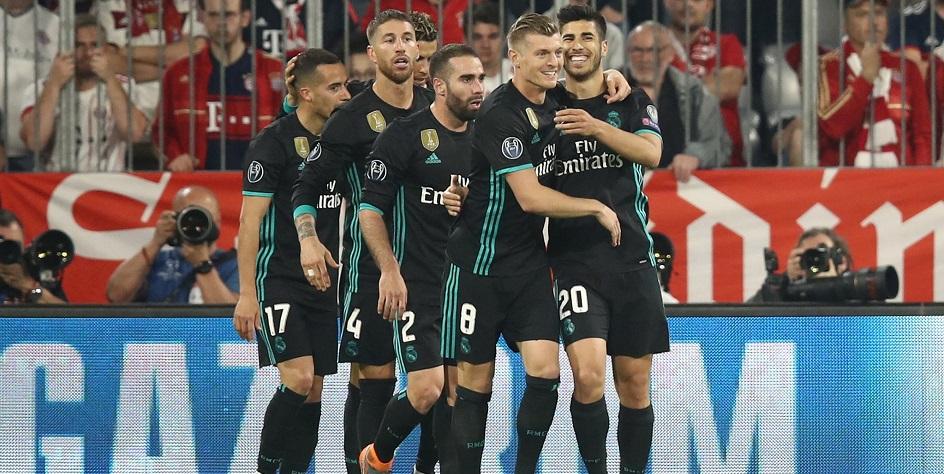 «Реал» одержал волевую победу над «Баварией» в полуфинале Лиги чемпионов