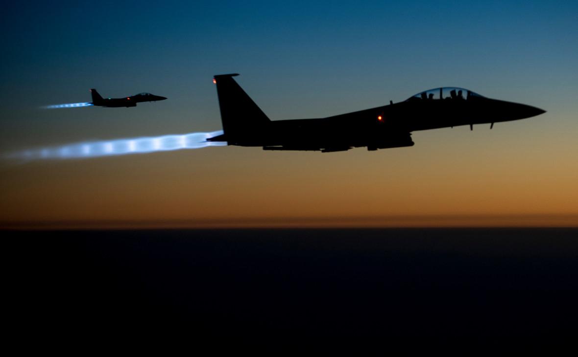 СМИ узнали о перехвате турецких истребителей самолетами США над Сирией