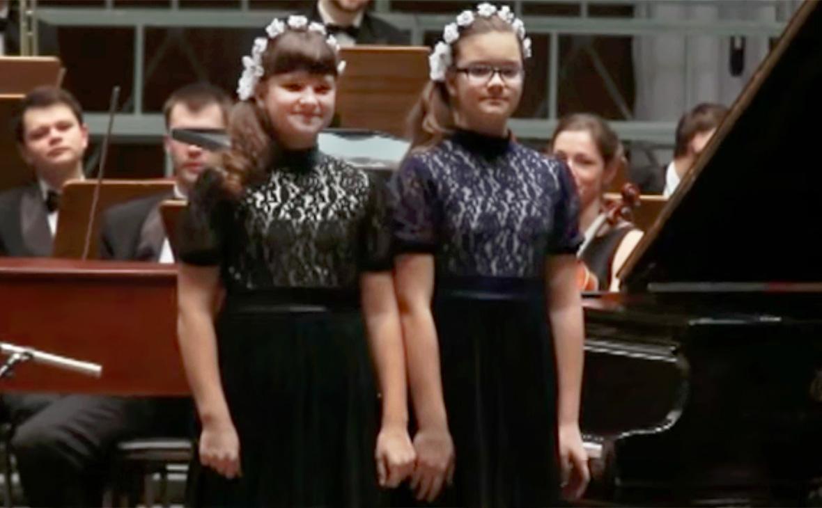 Дарья и Анастасия Лукашенко