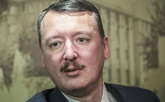 Экс-министр обороны самопровозглашенной ДНР Игорь Стрелков