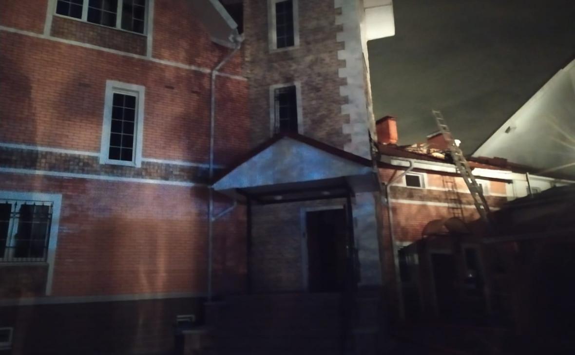 Фото: Здание, в котором произошел пожар / Администрация городского округа Красногорск