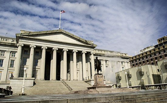 Здание казначейства США в Вашингтоне