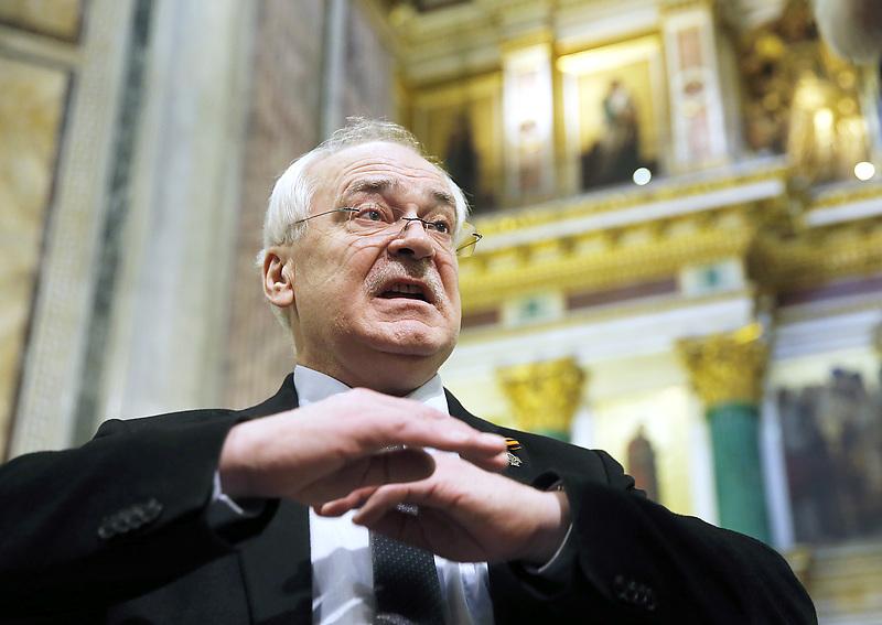 Николай Буров, директор музея-памятника «Исаакиевский собор»